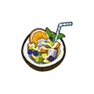 《小森生活》水果沙拉食谱配方