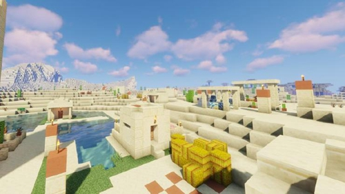 铁桶村改造 | 史莱姆撸秃沙滩竟是为了……