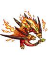 龙斗士火龙克鲁斯技能表 火龙克鲁斯属性图