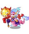 卡布西游紫玉龙魄兽