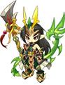 洛克王国武之圣者套装