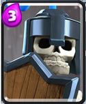 皇室战争骷髅卫士