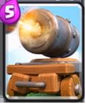 皇室战争加农炮战车