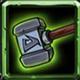 全民英雄绿装修复锤