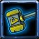 全民英雄蓝装修复锤