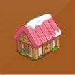 摩尔庄园豪华版粉色尖顶房