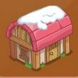 摩尔庄园豪华版粉色圆顶房