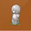 摩尔庄园豪华版企鹅摩尔雕像