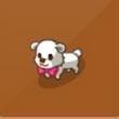 摩尔庄园豪华版白色小狗