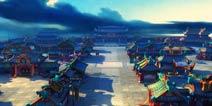 20层景深渲染 《大笑江湖》画面深度解析