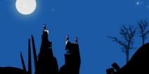 月黑风高刺激旅程 《弧线滑雪》评测