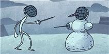 变态贱男历险记3关攻略 怎么打败雪人