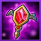 刀塔传奇红宝石吊坠-生命