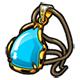 百万手办王蓝水晶挂饰图鉴 蓝水晶挂饰装备属性