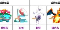 口袋妖怪3D6星阵容推荐 最强6星阵容合集