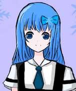 代表冬季的少女-夏若雪