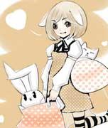板绘兔耳萌萝莉-千��