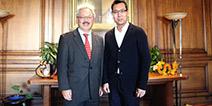 GDC 2015:旧金山市长会见中手游CEO肖健