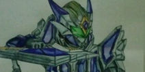 铠甲勇士之英雄传说铠甲勇士半身画