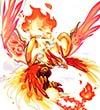 热血精灵派圣兽朱雀