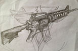 创世兵魂天鹰M4
