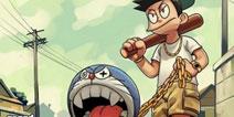 玩家自制哆啦A梦主题游戏图片:还我童年!