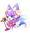 奥比岛萌狐小歌手