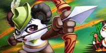 休闲射击游戏《放开那熊猫》登陆IOS平台