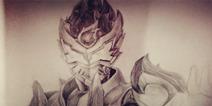 铠甲勇士之英雄传说铠甲铅笔绘画