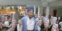 唐国强代言《横扫千军》幕后故事曝光
