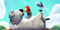 超人气3D冲浪手游《倒霉熊》今日全线登陆