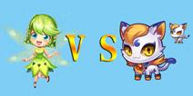 天天酷跑3D绿野仙踪和白玉灵猫哪个比较好 谁更厉害