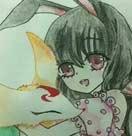 小花仙手绘兔子小姐--4399不良子殿下