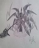 卡布西游手绘战神