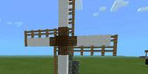 我的世界手机版建筑教程 小荷兰风车建筑图文详解