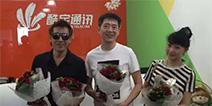 玩家社区直击打,吕颂贤,邵传勇体验CoolVR引围观