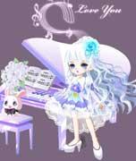 奥比岛钢琴少女