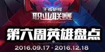 王者荣耀职业联赛第六周英雄盘点:姜子牙成最火英雄