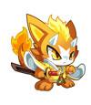 奥拉星龙猫武士