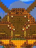 泰拉瑞亚蜂巢建筑图纸 蜂巢造型房屋详解