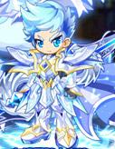 奥奇传说白银圣骑士套装