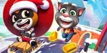 嗨翻圣诞节《汤姆猫跑酷》新版本抢先爆料