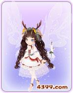 小花仙圣诞之星・白套装