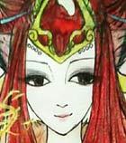 奥奇手绘---红莲贵妃