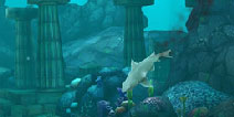 饥饿鲨:进化锤头鲨游1000米没有被刺伤任务攻略