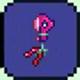 泰拉瑞亚粉色马掌气球