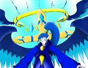 西普大陆板绘 自创精灵圣·剑帝