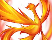 西普大陆板绘 自创炎焚之羽