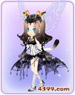 小花仙轻舞猫步套装