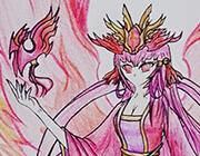 西普大陆手绘―弥音・帝凰圣女
